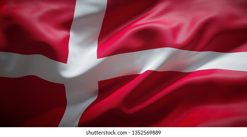 Danish flag. (Denmark)