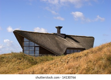 Danish Holiday Villa in the Sand Dune on Island Fanoe, Denmark