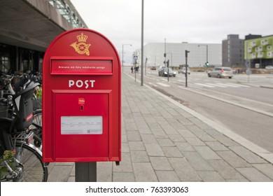 Danish mailbox on Copenhagen Street
