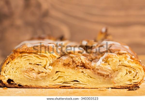 Danish Pastry Original Wienerbrod Copenhagen Stock Photo (Edit Now