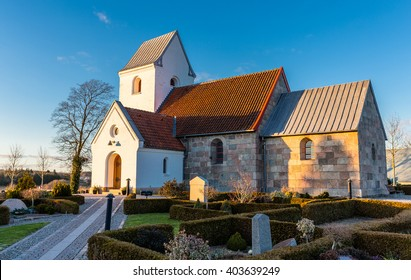 Danish village church at Dall, Aalborg