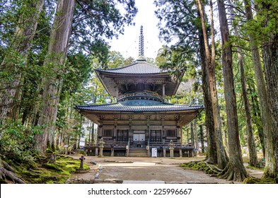 Danjogaran Saito. Danjo Garan is a temple complex; another first established by Kobo Daishi as a dojo (school) for the Shingon Sect at the time he entered Koyasan