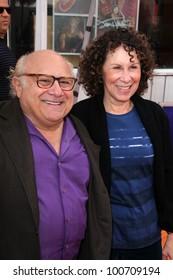 "Danny DeVito, Rhea Perlman at the ""Dr. Seuss' The Lorax"" Premiere, Universal Studios, Universal City, CA 02-19-12"