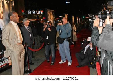 "Danny Glover at the Los Angeles Premiere of ""Shooter"". Mann Village Theatre, Westwood, CA. 03-08-07"