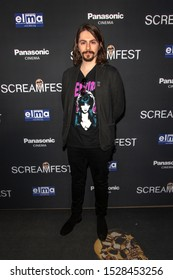 """Dante Vescio attends 19th Annual Horror Film Festival – ScreamFest - Opening Night """"Eat, Brains, Love"""" Los Angeles Premiere at TLC Chinese Theatre, Hollywood, CA on October 8, 2019"""