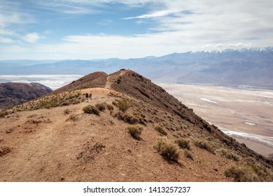 Dante's View point. This spot is popular with tourists looking for a great view of Death Valley. California, USA