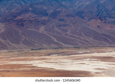 Dante's View is a viewpoint terrace at 1,669m height, on the north side of Coffin Peak, along the crest of the Black Mountains, overlooking Death Valley. .