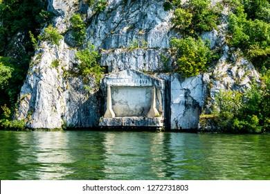 Danube River between Romania and Serbia