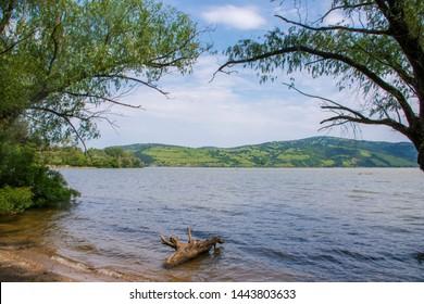 Danube river at Zatonje village Serbia - iron curtain trail
