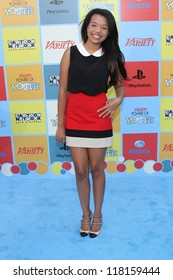 Daphne Blunt at Variety Power Of Youth, Paramount Studios, Hollywood, CA 09-15-12