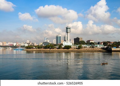 Dar es Salaam skyline, the largest city in Tanzania