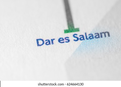 Dar Es Salaam Map Images, Stock Photos & Vectors | Shutterstock