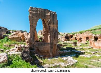 Dara Ancient City. Mesopotamia. Mardin, Turkey. Dara Ancient City, one of the most important settlements of Mesopotamia.