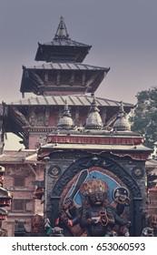 Darbar Square in Kathmandu