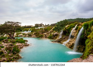 Darbat waterfalls, Salalah, Sultanate of Oman.