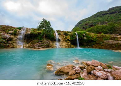 Darbat waterfalls, Salalah, Sultanate of Oman.