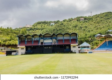 DAREN SAMMY CRICKET GROUND, ST LUCIA, UAE-13th SEPTEMBER 2017:-The Daren Sammy cricket ground named after the ex captain of the West Indies cricket team
