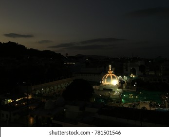 The dargah of Moinuddin Chishti, known as Ajmer Sharief Dargah or Ajmer Sharief, India