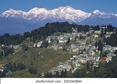 Darjeeling city in India