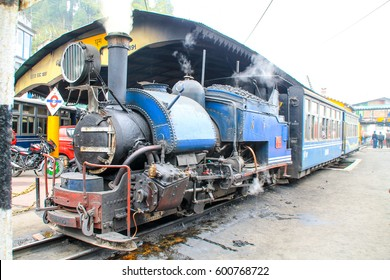 Darjeeling toy steam train, Ghum, India