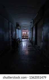 dark alleyway in Bahrain