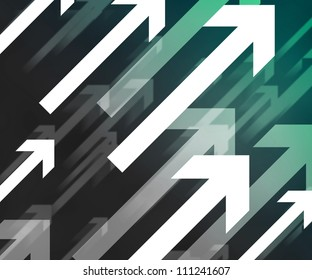Dark Arrows Background