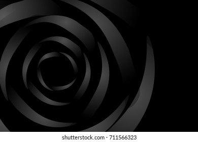 dark background with roses like shadows