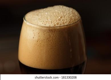 Dark beer - high contrast