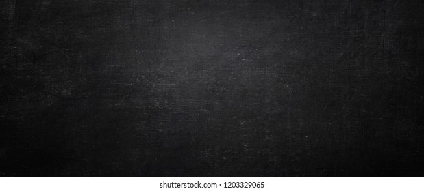 Dark and black chalkboard background, empty wall