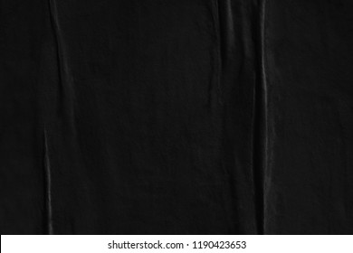 Dark black grey paper background creased crumpled surface old torn ripped posters scary grunge textures placard backdrop