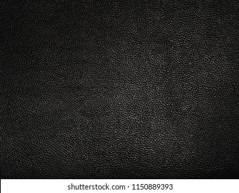 Dark black luxury Leather texture background.