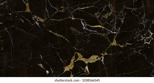 dark black marble granite