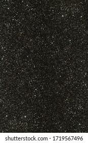 Dark Black Sky With Many Bright Stars, Background Texture, Designer Element