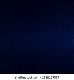 Dark blue artificial leather surface and dark blue background