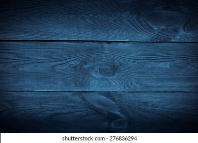 Dark blue background tree textured. Front view with empty space
