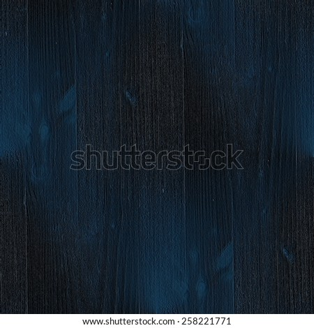 Dark Blue Background Wood Grain Texture Seamless Pattern