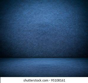 A dark blue canvas background