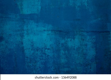 Dark blue concrete wall,abstract background