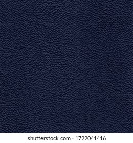Dark blue detailed background texture of leather