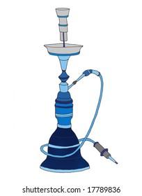 Dark blue Hookah