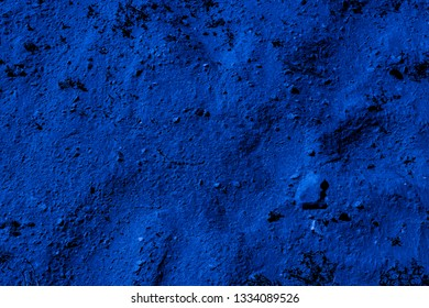 Dark blue land of Sumerians on the territory of burial mounds in Bahrain. Dilmun civilization. Background and Texture. High resolution