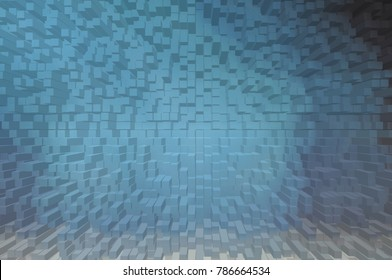 Dark blue solid soft abstract creative background texture for design