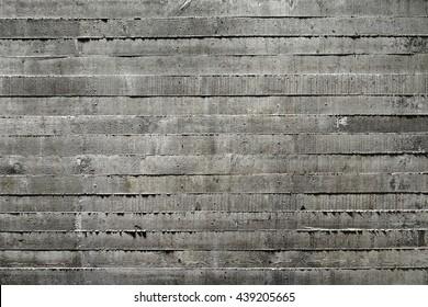Dark Board Formed Concrete Texture