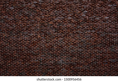 dark brick wall may used as background