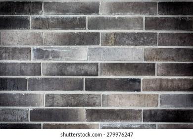 dark bricks wall background