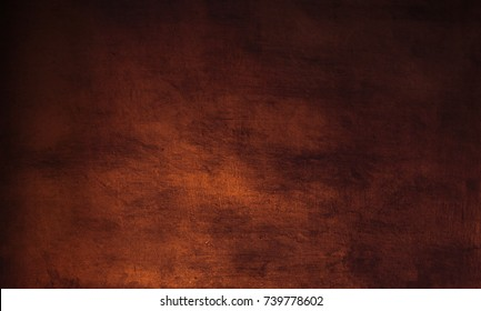 Dark brown background - grunge  textured  wall for your design.