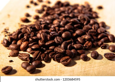 Dark Brown Coffee Beans