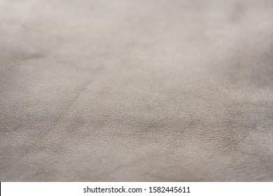 Dark brown full grain leather background