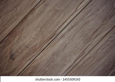 Dark Brown gray vitage wood diagonal texture natural tree background