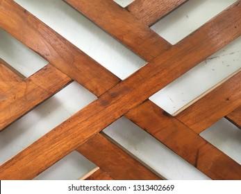 dark brown mahogany texture neatly arranged